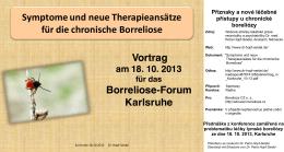 Příznaky a nové léčebné přístupy u chronické boreliózy