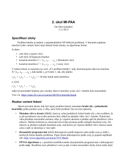 2. úkol MI-PAA