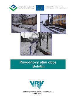 Povodňový plán obce Bělotín