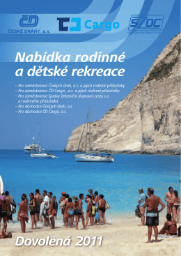 Nabídka rodinné a dětské rekreace - ČD Travel