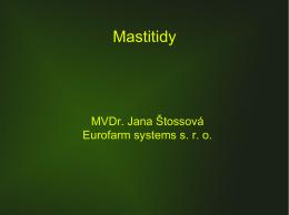 Mastitidy - Eurofarm systems