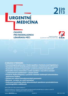 2/2013 - Urgentní medicína
