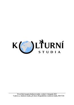 Kulturni studia 1/2013