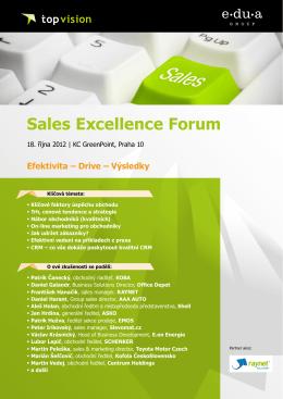 Sales Excellence Forum