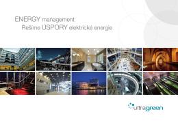 Řešíme úspory elektrické energie EnErgy management