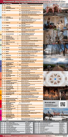 Kalendář akcí 2014-2015