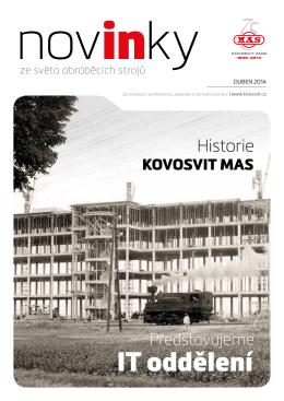 IT oddělení - Kovosvit MAS