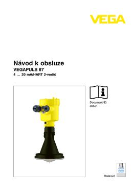 Manuál - AMS hladinoměry, s.r.o.