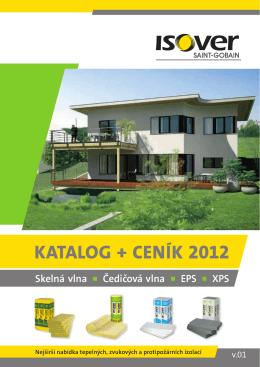 Katalog + ceníK 2012