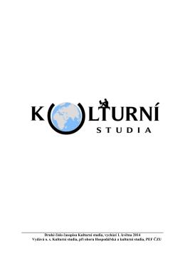 Kulturní studia 1/2014