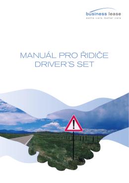 Manuál pro řidiče ke stažení ZDE