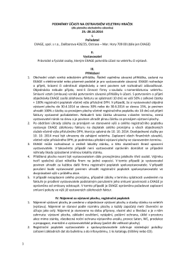 Obchodní podmínky 2014 - Ostravský veletrh hraček