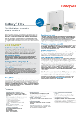 Galaxy® Flex - Honeywell Security