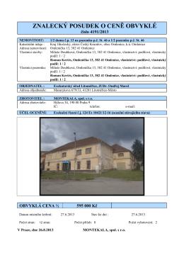 17013 Dům Kertés - Exekutorský úřad Litoměřice