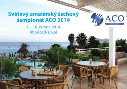 Světový amatérský šachový šampionát ACO 2014