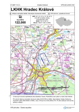 Maps LKHK - Letecké služby Hradec Králové as