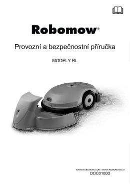 Návod Robomow modely RL
