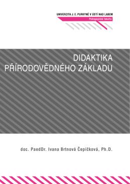 Skripta - Didaktika přírodovědného základu, Sazba a úpravy