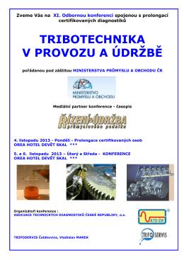 KONFERENCE - Pozvánka 2013