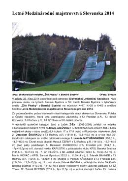 Banská Bystrica-Mistrovství Slovenska 2014.