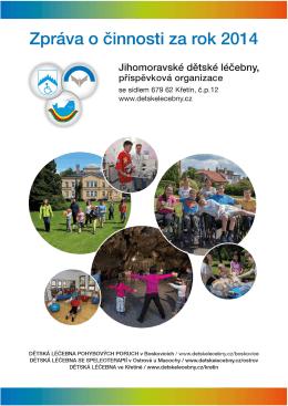 Výroční zpráva - Jihomoravské dětské léčebny, p.o.