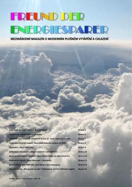 mezinárodní magazín o moderním plošném