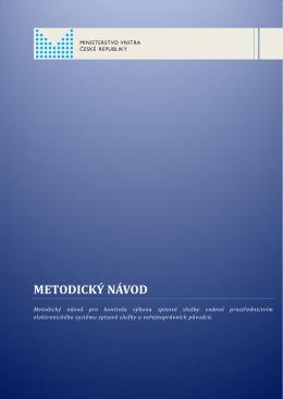 METODICKÝ NÁVOD - Národní digitální archiv