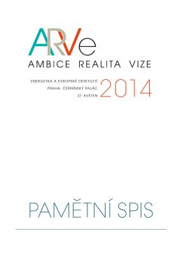 PAMĚTNÍ SPIS ARVe2014