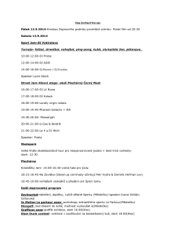 Stop Zevling 8-line-ups Pátek 12.9.2014