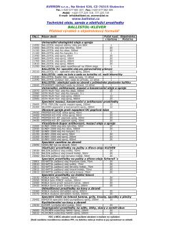 pdf - Technické oleje a spreje
