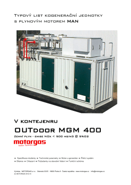 OUTdoor MGM 400