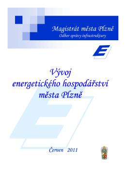 Vývoj energetického hospodářství města Plzně - Energetika