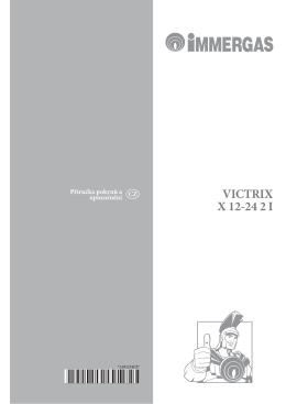 Uživatelský návod Victrix X 12