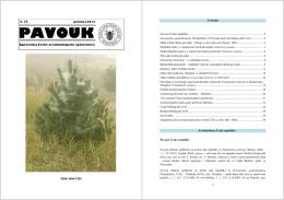 Pavouk 33 - Česká arachnologická společnost