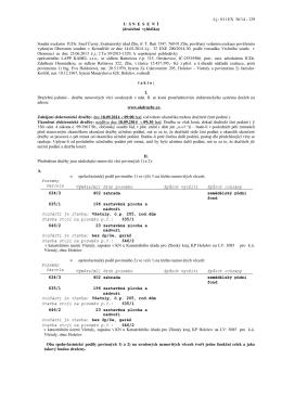 dražební vyhláška - Exekutorský úřad Zlín