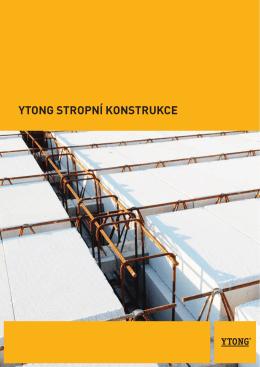 Příručka stropní konstrukce Ytong