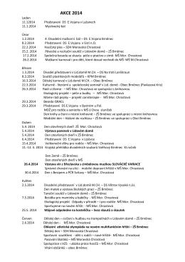 AKCE 2014 - Obec Brněnec