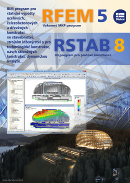 RFEM 5 / RSTAB 8 - Dlubal Software s.r.o.