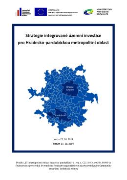 Strategie ITI Hradecko-pardubické metropolitní