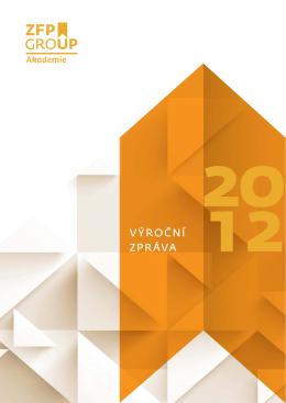 Výroční zpráva 2012 ke stažení