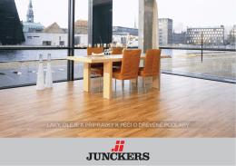 laky, oleje a přípravky k péči o dřevěné podlahy