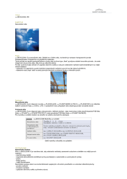 E® SUBTITLE Samočisticí sklo Popis SGG BIOCLEAN