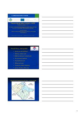 Funkce vodohospodářského dispečinku povodí Vltavy