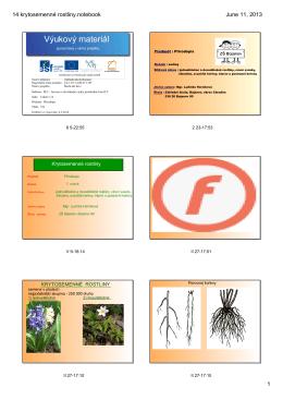 14 krytosemenné rostliny.notebook - Základní škola Bojanov, okres