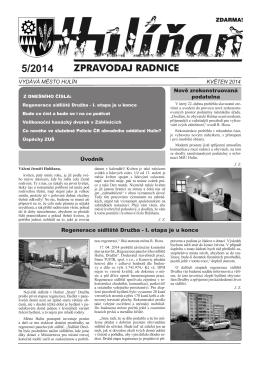 Hulíňan č. 5/2014