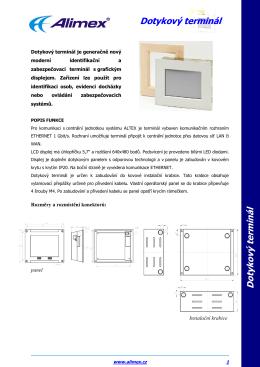 Dotykový terminál datasheet.pdf