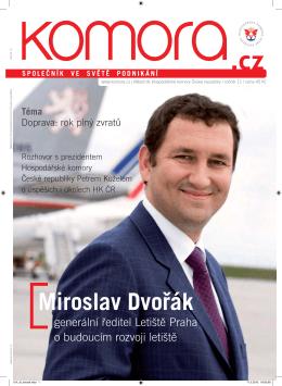Miroslav Dvořák - Hospodářská komora České republiky