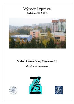 Výroční zpráva 2012/2013