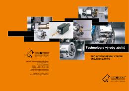 Technologie výroby závitů - WAGNER®