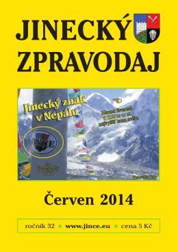 Jinecký zpravodaj - červen 2014